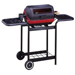 meco 9359w deluxe electric cart bbq grill deal